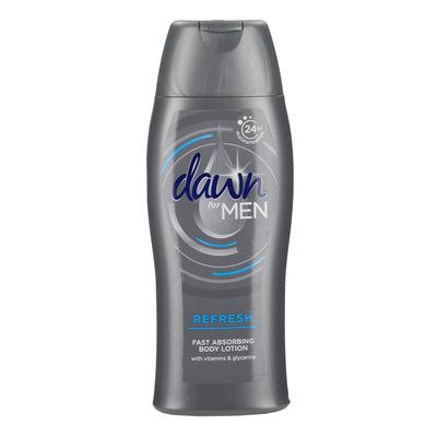 Dawn Body Lotion For Men Refresh 400ml (x2)