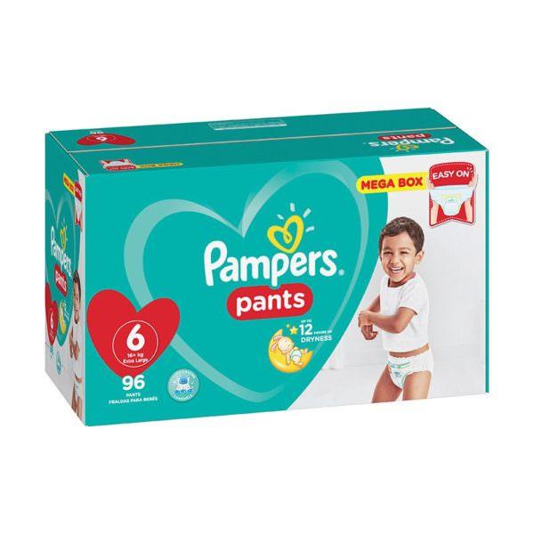 Pamper Pants Size 6 Extra Large 96 Mega Box