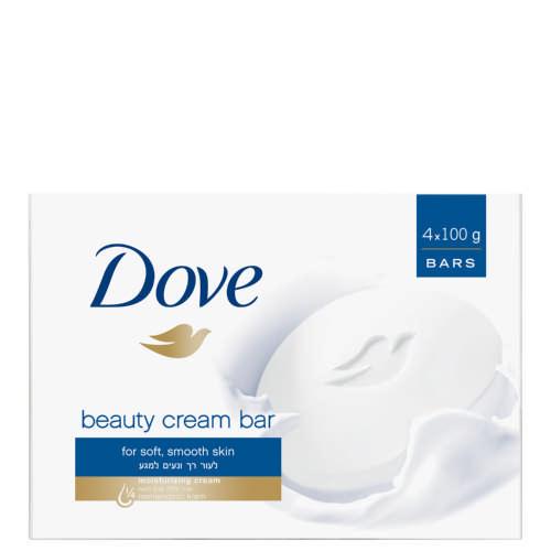 Dove Beauty Bar White 100g (x4)