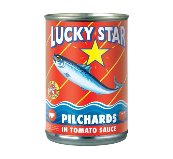Lucky Star Pilchards in Tomato Sauce 400g (x5)