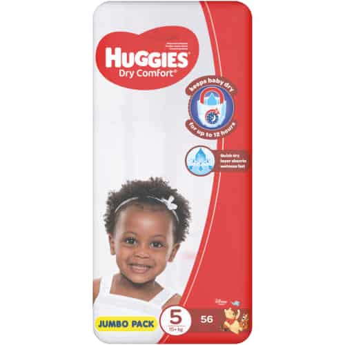 Huggies Dry Comfort Size 5 Jumbo