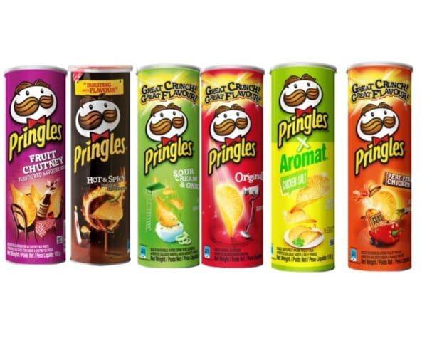 Pringles Potato Chips(6 x 100g)