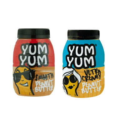 YUM YUM Peanut Butter(All variants) 6 x 800g