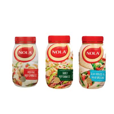 NOLA Mayonnaise 6 x 730/750g ( All Variants)